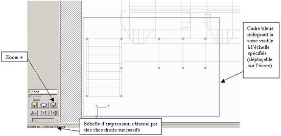 Comment imprimer un dessin à une échelle spécifiée