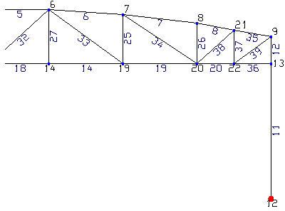 Comment déplacer un montant d'un treillis cintré