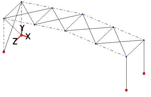 Comment éditer les déplacements maximum d'un portique de stabilité dans un contreventement