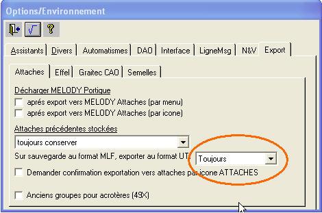 Comment peut on éviter la sauvegarde automatique des fichiers UTI et MLG