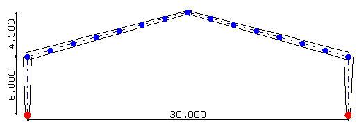 Comment calculer des portiques en lamellé-collé