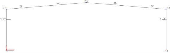 Dans le cas d'un calcul de portique avec pont roulant, peut-on imposer une limite sur le déplacement du corbeau ?