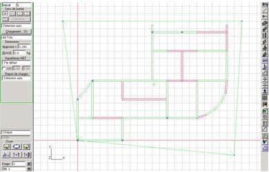 Comment créer rapidement une dalle périphérique sur un contour de structure à géométrie complexe