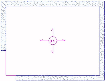 Comment détecter un contour de dalle non fermée