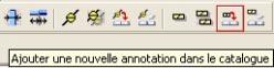 Comment créer des annotations personnalisées sous Advance Concrete