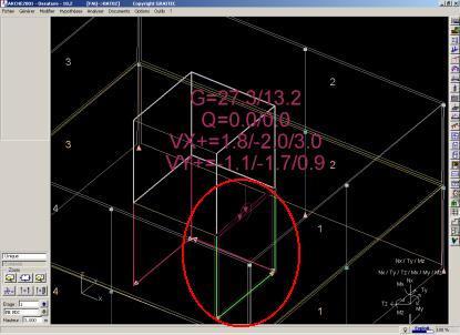 Comment peut-on modéliser un bâtiment dont les voiles assurent seules le contreventement de la structure