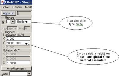 Comment gérer l'interface sol-structure par l'utilisation d'appuis élastiques
