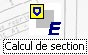 Comment créer une nouvelle section dans le catalogue avec l'outil « Calcul de sections »