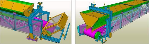 Weighing belt conveyor replacement: EMCI