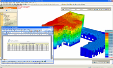 Advance Design 2011:  New Finite Element functionality