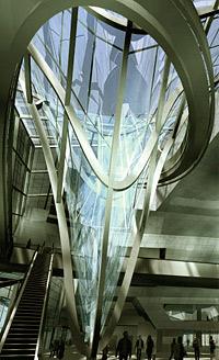 Musée des Confluences din Lyon proiectat cu ajutorul ADVANCE Design