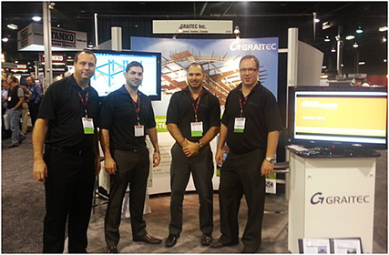 GRAITEC exhibited at Metalcon International 2012 and at DBIA