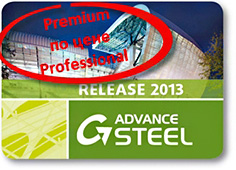 Advance Steel 2013 Premium по цене Professional