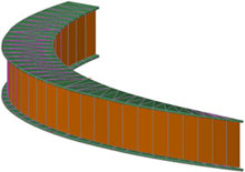 Modeling of complex parts for sheet metal work and structures