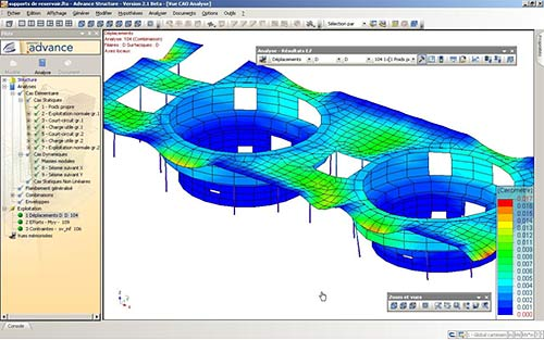 GRAITEC launches the 2.1 version of its new generation structural analysis software: « Advance Design »