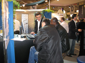 GRAITEC at the Batimat tradeshow 2007
