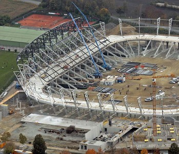 New stadium for the football Euro Cup 2008