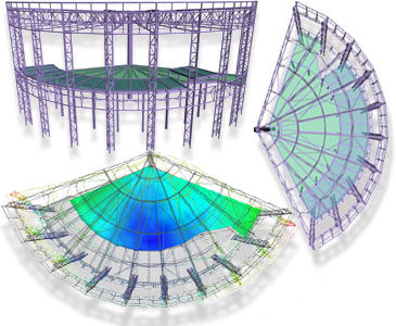 Advance Design : Professional Finite Element Analysis Software with Concrete / Steel structures presizing and automatic reports generation