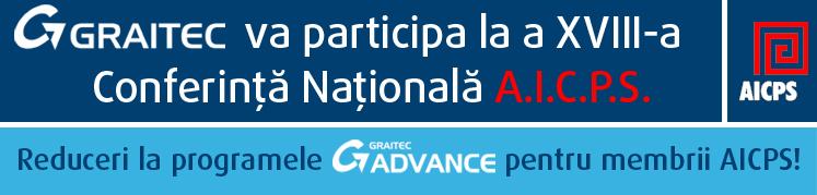 GRAITEC va participa la a XVIII-a Conferinta Nationala A.I.C.P.S., 30 Mai 2008