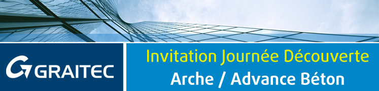 Invitation Journée Découverte Arche / Advance Concrete