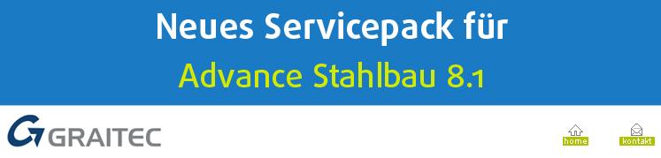 Neues Servicepack f�r Advance Steel 8.1