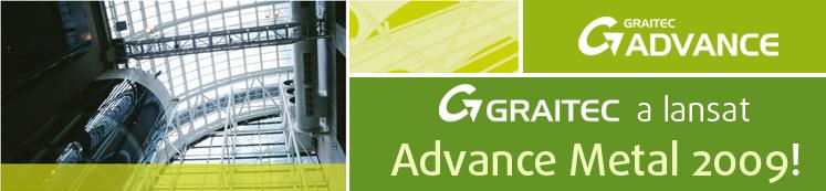 GRAITEC a lansat Advance Steel 2009