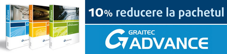 10% reducere la pachetul Graitec Advance