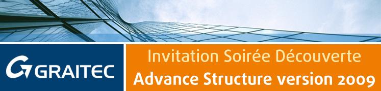 Invitation Soirée Découverte Advance Structure version 2009