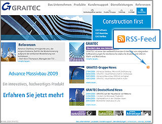 RSS-Feed: aktuelle Nachrichten von GRAITEC