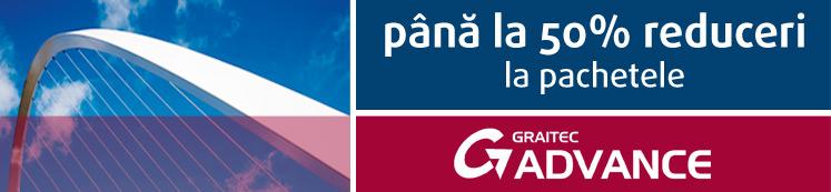 Promoţie GRAITEC: Pana la 50% reduceri la pachetele GRAITEC Advance Professional