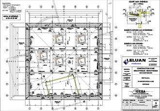 Advance Béton : applicatif AutoCAD professionnel pour la conception de structures en béton armé et la production automatique de plans coffrage / ferraillage