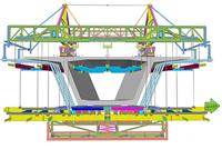 Freivorbauwagen für Saadiyat Brücke, Ed. Züblin. AG