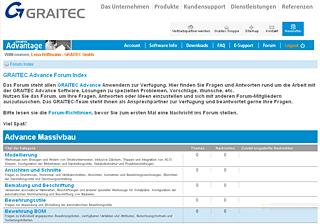 GRAITEC Advantage Forum auf Deutsch