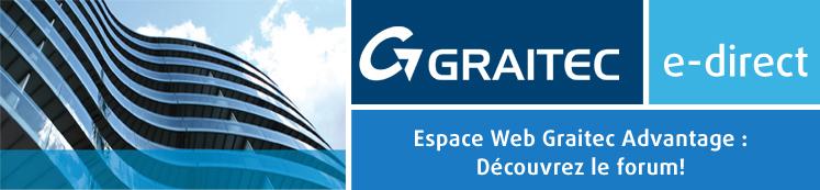 Espace Web GRAITEC Advantage : Découvrez le forum !