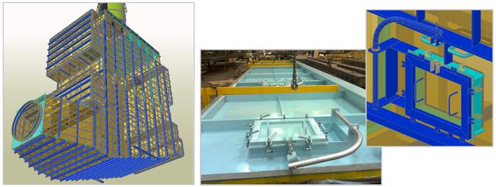 Proiect Advance Steel - Cazan pentru centrala termica