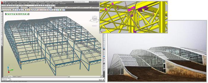 Proiect Advance Steel: Gradina Tropicala