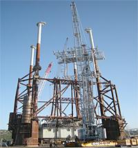Offshore Platform, Offshore Congo, West Africa