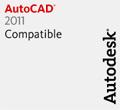 Advance Steel 2010: Kompatibilität mit AutoCAD® 2011