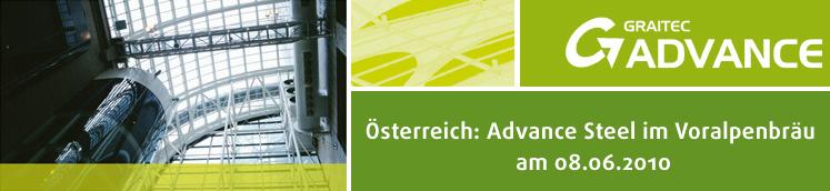 Österreich: Advance Steel im Voralpenbräu am 08.06.2010