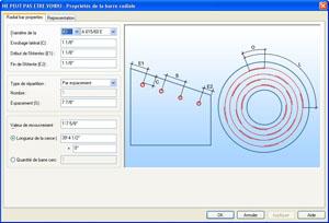 Advance Concrete: Ferraillage DYNamique � barres radiales