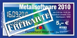 Marktpkatz Metallsoftware NRW