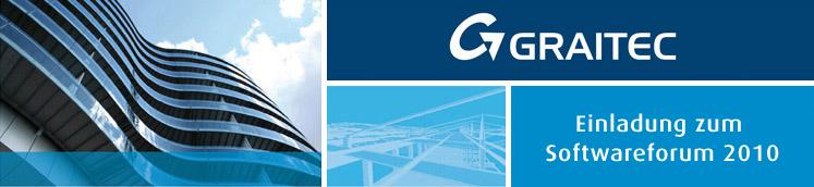 GRAITEC + CSI: Einladung zum Softwareforum 2010