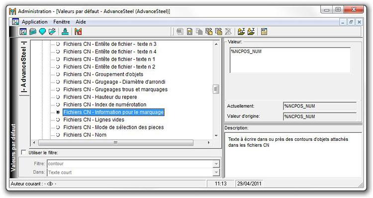 Comment le scribing fonctionne-t-il pour les fichiers DSTV et les fichiers DXF ?