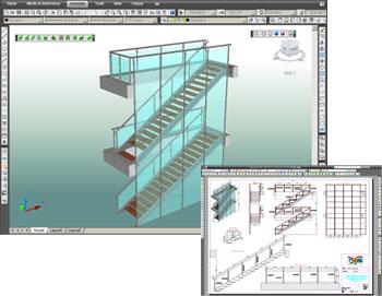 Advance Steel: Direk AutoCAD® platformu üzerine çalışan, çelik konstruksyonlara yönelik şekillendirme ve detaylandırma proğramı