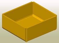 Erstellen von Löchern in den Ecken eines Kantblechs