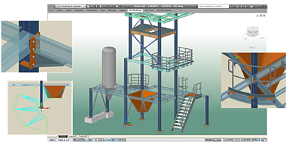 Advance Steel: Efficient structural modeling