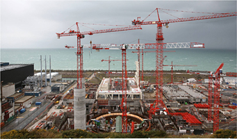 Advance Concrete Project: Extension of Flamanville nuclear power station - TPF Engineering, Brussels, Belgium