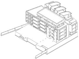 Advance Concrete Project - Residential building - EBS, Montbonnot, France