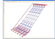 How to use an external object to produce reinforcement detailing in Advance Concrete