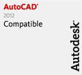 Compatibilité avec AutoCAD® 2012 et Autodesk® Architecture 2012